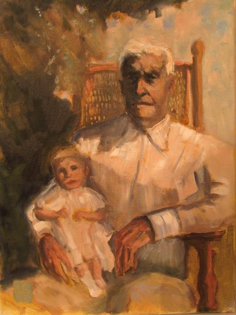 Mayrah y Abuelo Complete Mediano